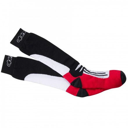 Racing Road Socks - Zwart-Rood