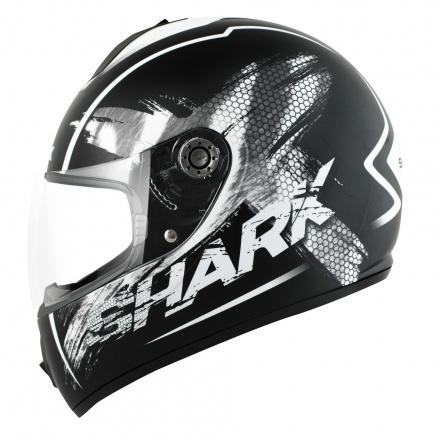 Shark S600 Exit Mat (Pinlock), Zwart-Wit (1 van 3)