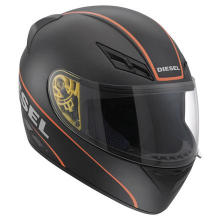 Diesel Full-Jack Logo, Mat Zwart-Oranje (1 van 5)