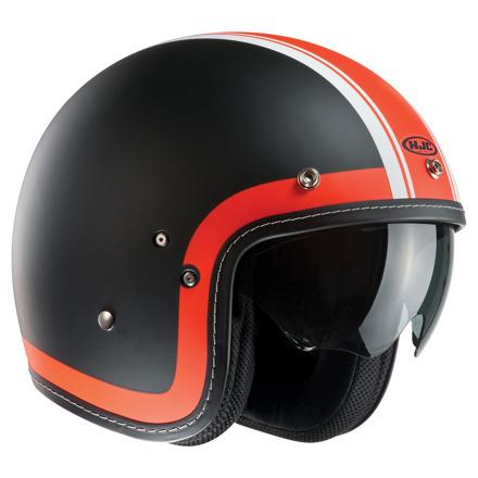 HJC FG-70s Heritage, Mat Zwart-Oranje (1 van 4)