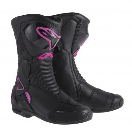 Alpinestars S-MX 6 (Stella/Ladies), Zwart-Roze (1 van 1)