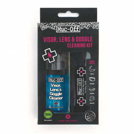 Muc-Off Visor, Lens & Goggle Cleaning Kit, N.v.t. (1 van 1)