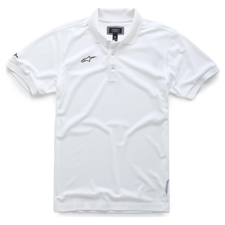 Alpinestars Vortex Polo, Wit (1 van 1)