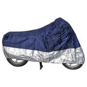 Motorhoes Basic - Blauw-Zilver
