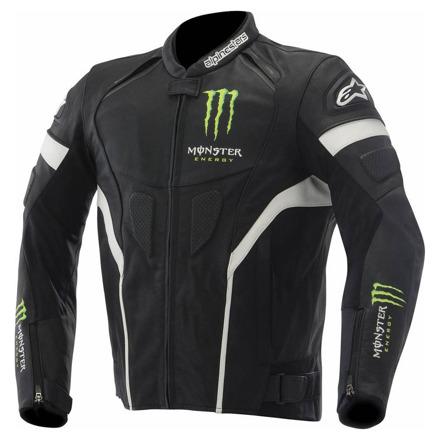 Alpinestars Scream (Monster Energy), Zwart-Groen-Wit (1 van 2)