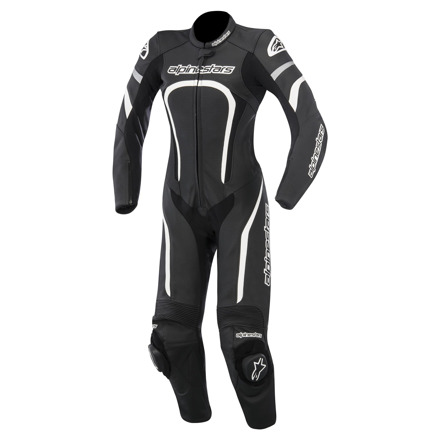 Alpinestars Motegi 1pc (Stella/Ladies), Zwart-Wit (1 van 1)