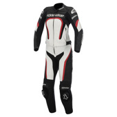 Motegi 2pc combi (Stella/Ladies) - Zwart-Wit-Rood