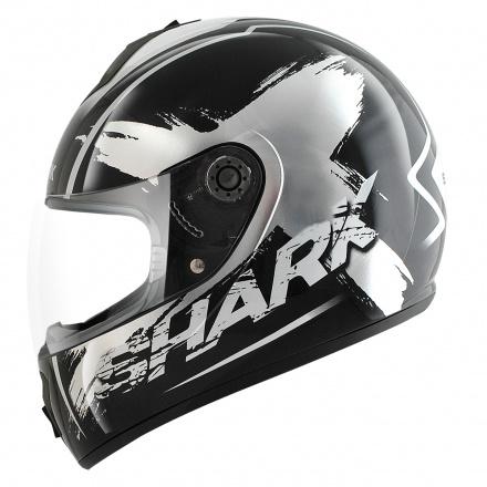 Shark S600 Exit (Pinlock), Zwart-Zilver-Wit (1 van 2)