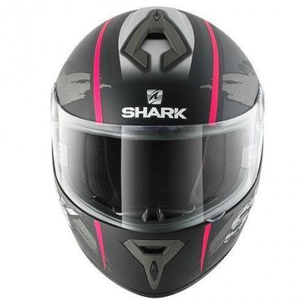 Shark S600 Exit Mat (Pinlock), Zwart-Antraciet-Violet (2 van 3)