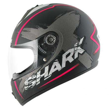 Shark S600 Exit Mat (Pinlock), Zwart-Antraciet-Violet (1 van 3)