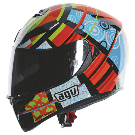 AGV K-3 SV Rossi Elements (Pinlock), Multi (3 van 5)