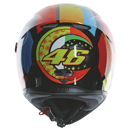 AGV K-3 SV Rossi Elements (Pinlock), Multi (4 van 5)