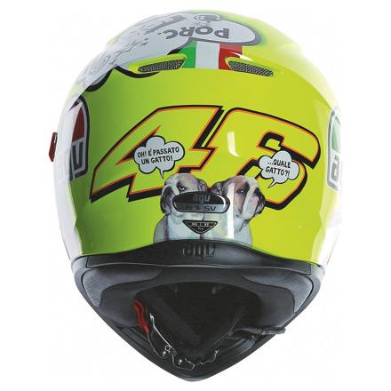 AGV K-3 SV Rossi Misano 2011 (Pinlock), Multi (4 van 5)