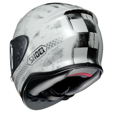 Shoei NXR Terminus, Wit-Zwart-Zilver (2 van 3)