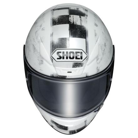 Shoei NXR Terminus, Wit-Zwart-Zilver (3 van 3)