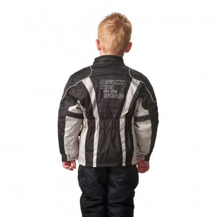 GC Bikewear Kids motorjas, Zwart-Zilver (2 van 3)