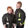 GC Bikewear Kids motorjas, Zwart-Zilver (Afbeelding 3 van 3)