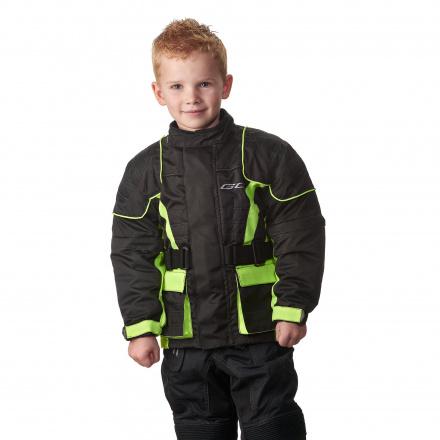 GC Bikewear Kids motorjas, Zwart-Fluor (1 van 3)