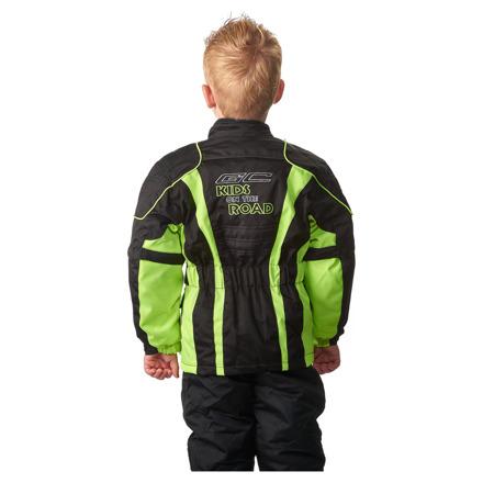 GC Bikewear Kids motorjas, Zwart-Fluor (2 van 3)
