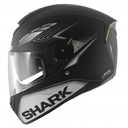 Shark Skwal Matador Mat, Mat Zwart-Zilver-Wit (3 van 6)