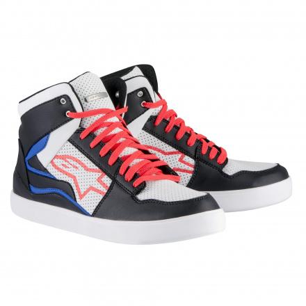 Stadium Shoes - Zwart-Wit-Rood-Blauw