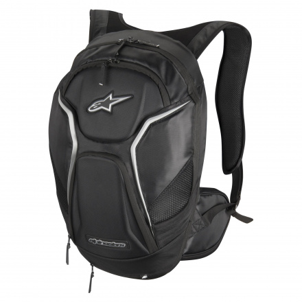 Alpinestars Tech Aero Back Pack, Zwart-Wit (1 van 1)