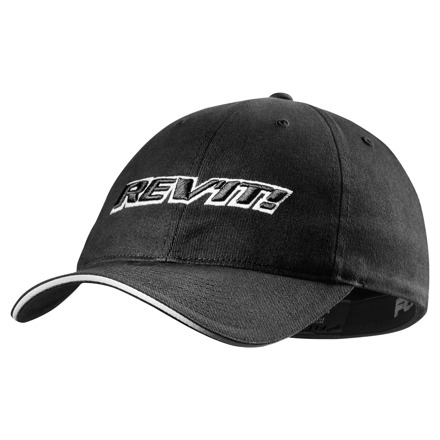 REV'IT! Cap Stockton, Zwart (1 van 2)