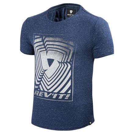 T-shirt Whitfield - Marine Blauw
