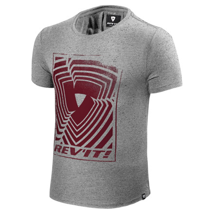 REV'IT! T-shirt Whitfield, Grijs (1 van 2)