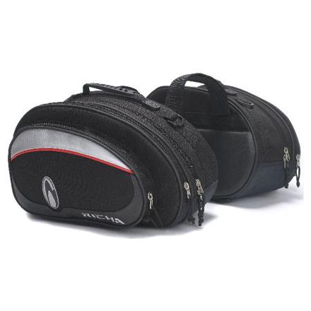 Richa Twin Bags, Zwart-Grijs (1 van 1)