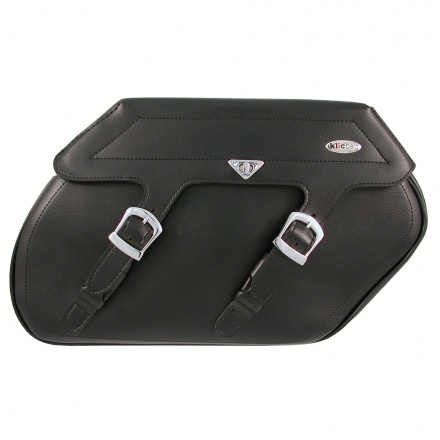Klicbag Saddlebags 23 Liter, Zwart (1 van 3)