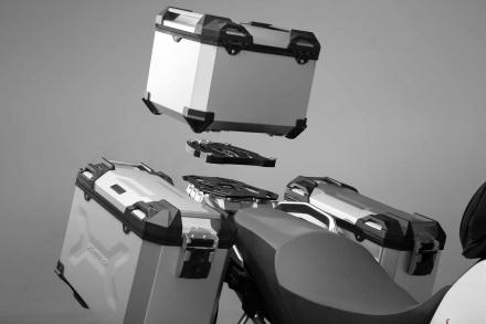 SW-Motech Trax Adventure Alubox Topcase (38 Ltr.)., Zilver (3 van 3)