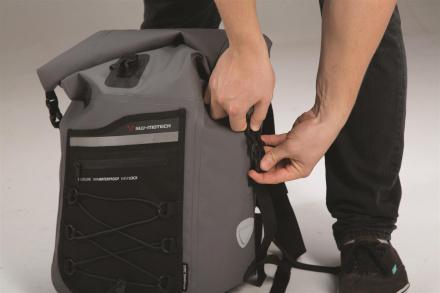 SW-Motech Drybag 300 rugzak 25L, Grijs (6 van 6)