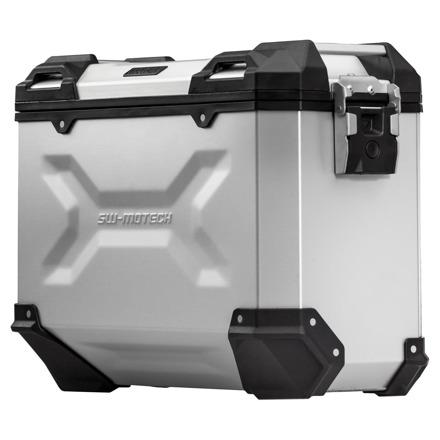 Trax Adventure Alubox Medium 37L, Links - Zilver