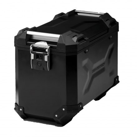 Trax Adventure Alubox Large 45L, Links - Zwart