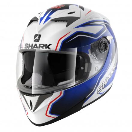 Shark S700 S Pinlock Guintoli, Wit-Blauw-Rood (1 van 5)