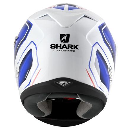Shark S700 S Pinlock Guintoli, Wit-Blauw-Rood (5 van 5)