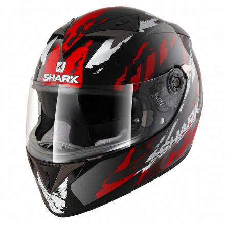Shark S700 S Pinlock Oxyd, Zwart-Rood-Zilver (1 van 5)