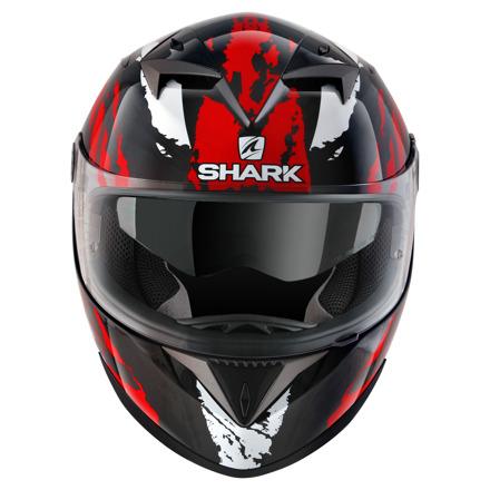 Shark S700 S Pinlock Oxyd, Zwart-Rood-Zilver (4 van 5)