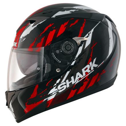 Shark S700 S Pinlock Oxyd, Zwart-Rood-Zilver (5 van 5)