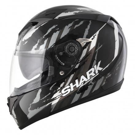 Shark S700 S Pinlock Oxyd, Zwart-Zilver-Antraciet (2 van 5)
