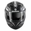 Shark S700 S Pinlock Tika Mat, Mat Zwart-Antraciet-Wit (Afbeelding 4 van 5)