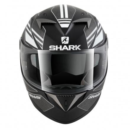 Shark S700 S Pinlock Tika Mat, Mat Zwart-Antraciet-Wit (4 van 5)