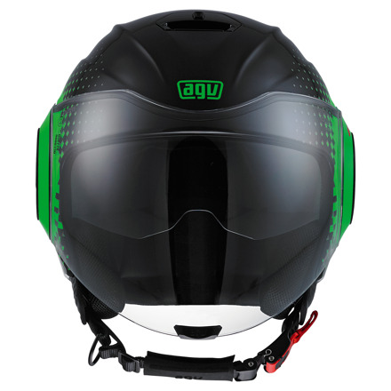 AGV Fluid Pix, Zwart-Groen (2 van 5)
