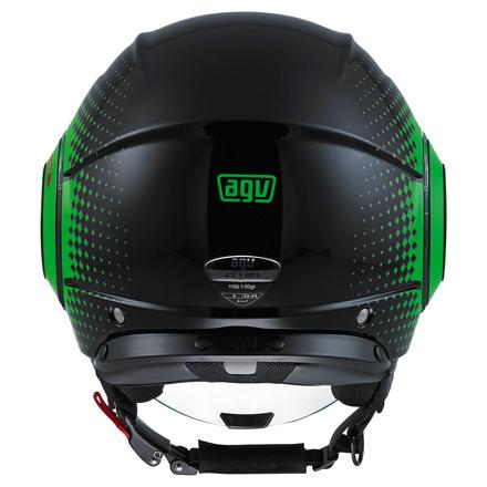 AGV Fluid Pix, Zwart-Groen (3 van 5)