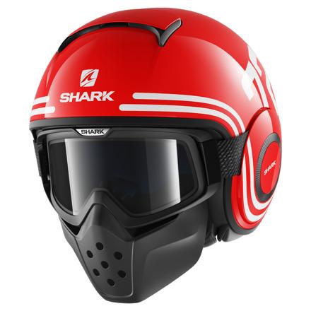 Shark Drak 72, Rood-Wit-Zwart (1 van 3)