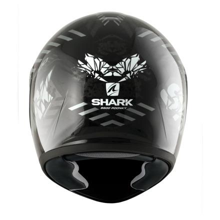 Shark S600 Pinlock Poonky, Zwart-Antraciet-Wit (4 van 5)