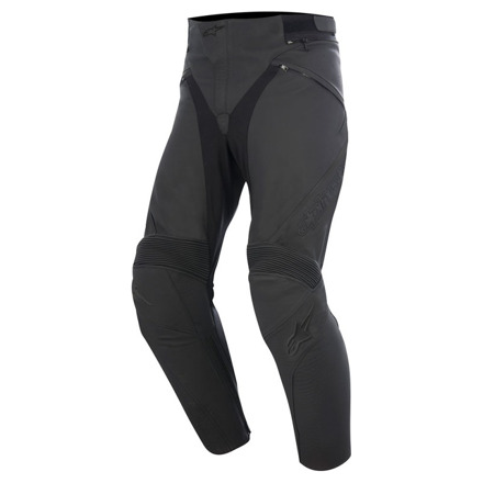 Alpinestars Jagg Leather Pants, Zwart (1 van 1)