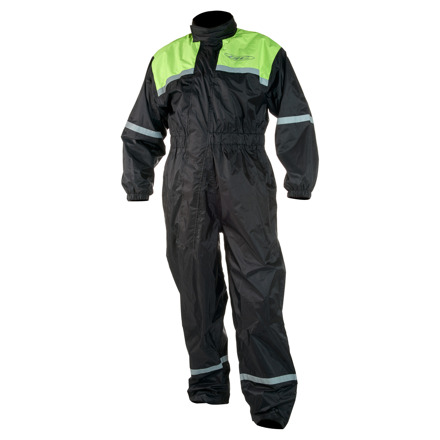 GC Bikewear Tornado Regenpak, Zwart-Fluor (1 van 1)