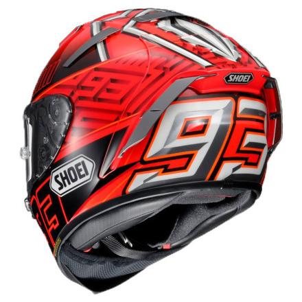 Shoei X-Spirit III Marquez4, Rood-Zwart-Zilver (2 van 3)